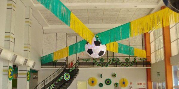 Resultado de imagem para decoração copa do mundo
