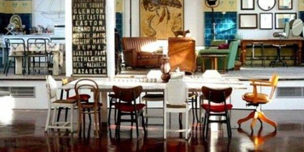 Decoração com Cadeiras Diferentes na Sala de Jantar   31