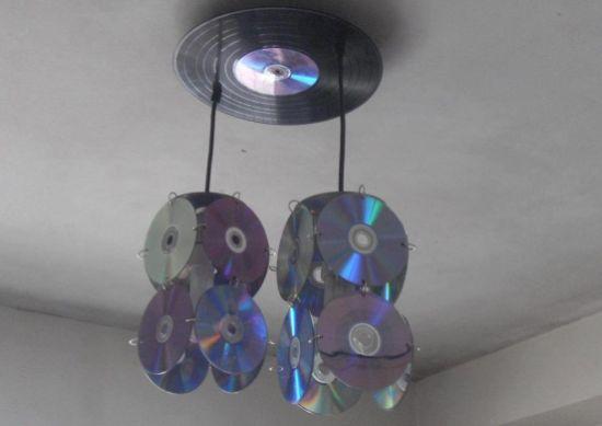 Decoração Com Cd ~ Decoraç u00e3o e Projetos Decoraç u00e3o com Reciclagem de CDs Velhos