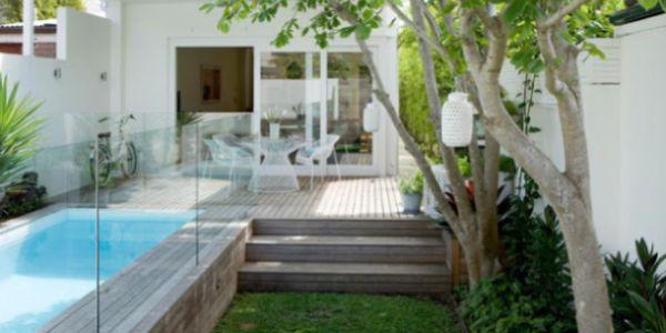 Decora o e projetos for Piscina para patio pequeno