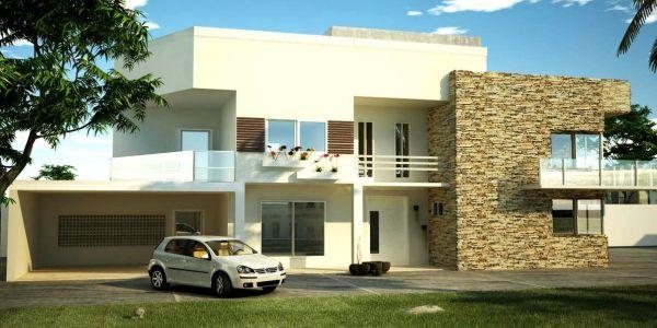 Decora o e projetos decora o e projetos for Modelos de frente para casas pequenas