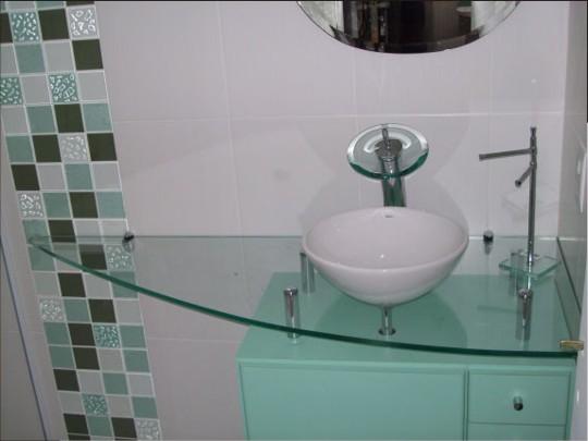 lavabo decoracao barata:Decoração e Projetos – Decoração de banheiros com pastilhas