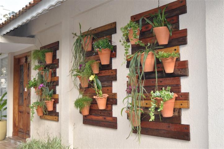 ideias para jardins verticais:Decoração e Projetos – Fotos de decoração de jardins pequenos