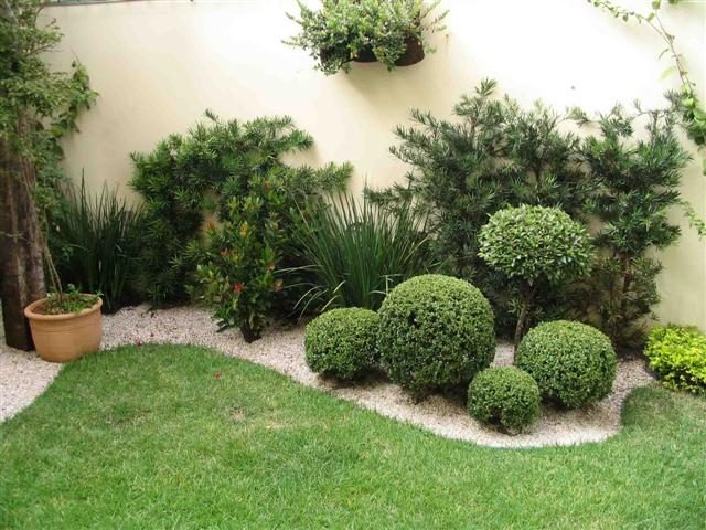 imagens jardins pequenos : imagens jardins pequenos:Decoração e Projetos – Fotos de decoração de jardins pequenos