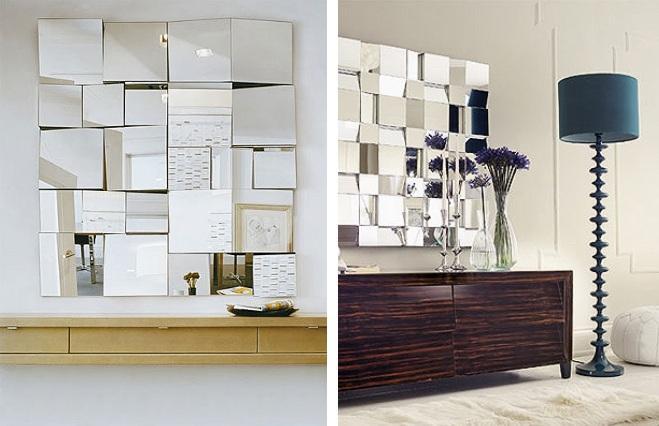 esculturas para decoracao de interiores : esculturas para decoracao de interiores: Projetos – Decoração de salas de jantar com espelhos – Fotos