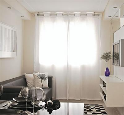 Como decorar um apartamento pequeno gastando pouco for Como decorar un apartamento sencillo