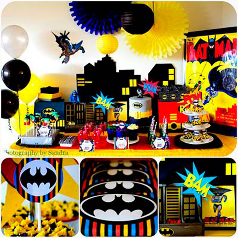 festa menino Batman