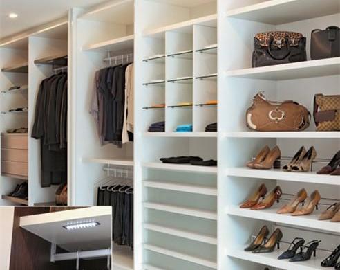 Decora o e projetos casas decoradas com m veis planejados for Closets de vanguardia