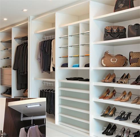 Decora o e projetos casas decoradas com m veis planejados for Closet para recamaras modernas