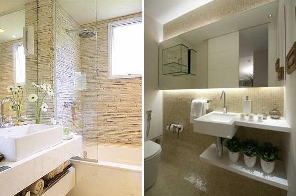 Decoração e Projetos CONHEÇA ALGUNS TIPOS DE BOX DE BANHEIRO -> Banheiro Decorado Pedras
