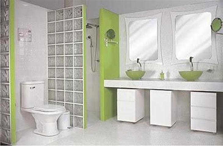 decorar banheiro simples : decorar banheiro simples: Projetos – Decoração de banheiros com tijolo de vidro