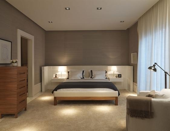 Decora o e projetos decora o de camas de casal com fotos for Ambientes interiores de casas
