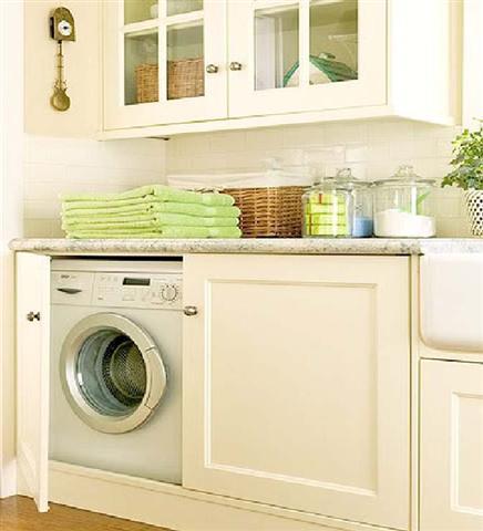 Decoração de lavanderia residencial pequena (3)