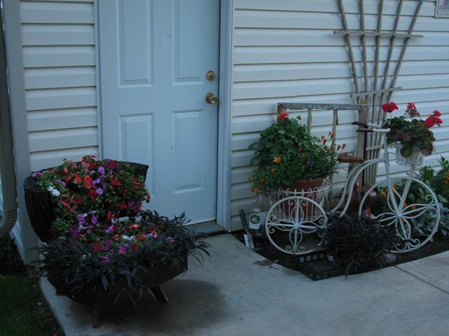 ideias jardim reciclado : ideias jardim reciclado:Decoração e Projetos – Decoração reciclável para jardim