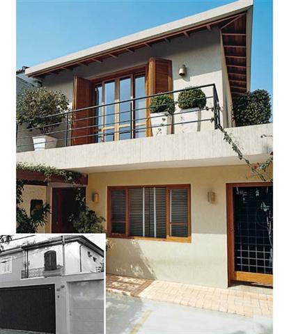 Decora o e projetos fachadas de casas antigas reformadas - Reformas casas pequenas ...