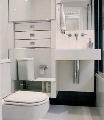 Decora o e projetos fotos de banheiros pequenos decorados for Fotos de apartamentos bonitos
