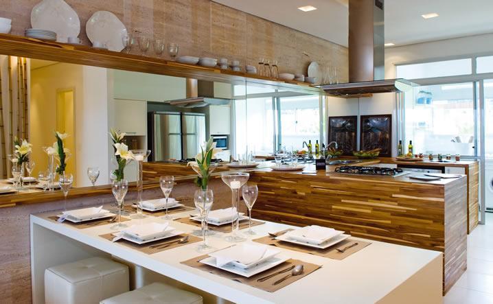 decoracao de interiores cozinha rustica:Decoração e Projetos – Fotos de cozinhas com cooktop