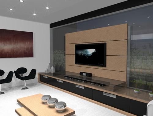 Decoração e Projetos – Fotos de decoração de sala de TV