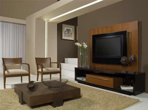 decoracao de sala de tv : decoracao de sala de tv:Sala De TV