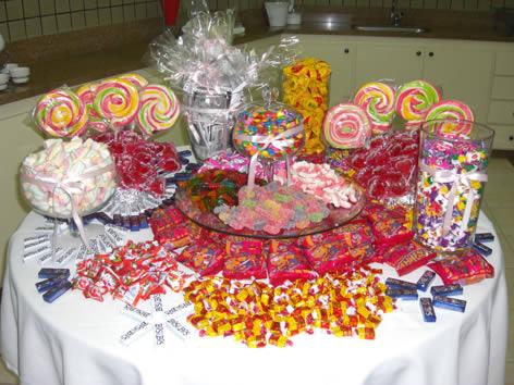 Decoração De Mesa De Guloseimas De Festa Infantil Com Fotos