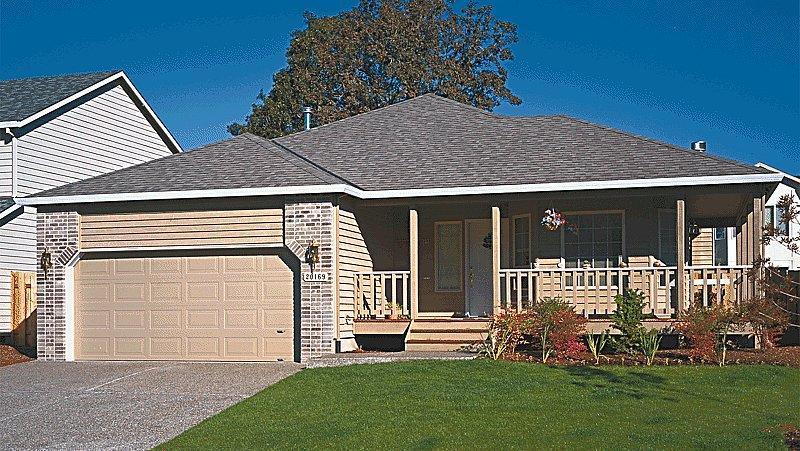 Decora o e projetos plantas de casas americanas gr tis - Casas americanas con porche ...
