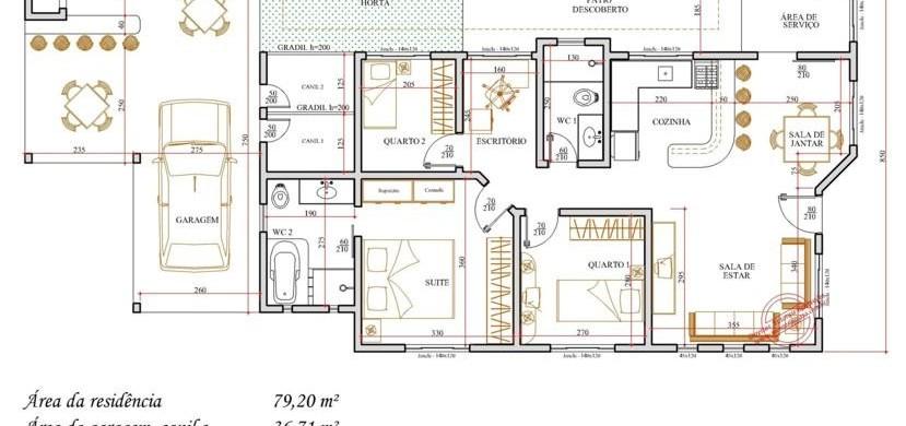 Plantas de casas grtis 2 e 3 quartos car interior design for Jardins mangueiral planta 3 quartos