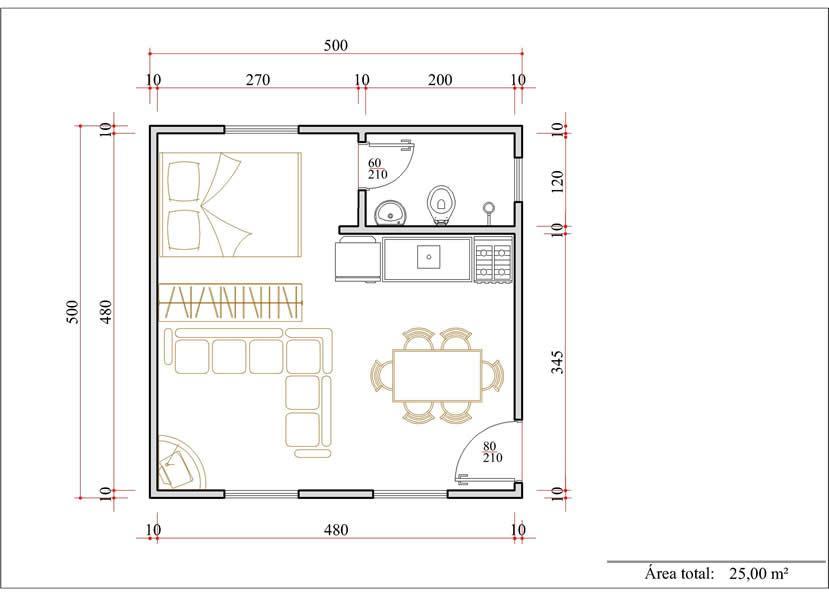 decoracao de ambientes pequenos e integrados : decoracao de ambientes pequenos e integrados:Decoração e Projetos – Plantas de casas com ambientes integrados