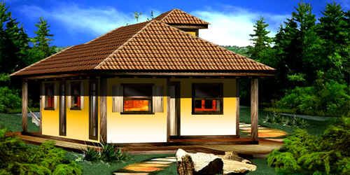 Pin projetos casas rusticas pequenas gratis graffiti for Casas de campo rusticas pequenas
