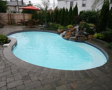 Decora o e projetos projetos de piscinas residenciais for Piscina gratuita