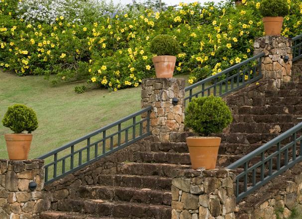 escadas externas jardim : escadas externas jardim:Projetos de escadas residenciais externas 3