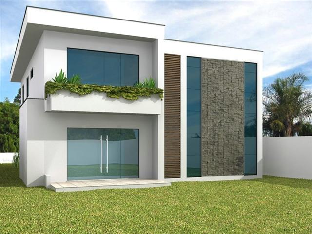 Decora o e projetos projetos de sacadas de sobrados gr tis for Casas modernas de 70m2