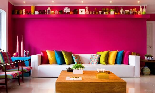 Decora o e projetos decora o de casas cores de paredes for Decoracion barata pisos pequenos