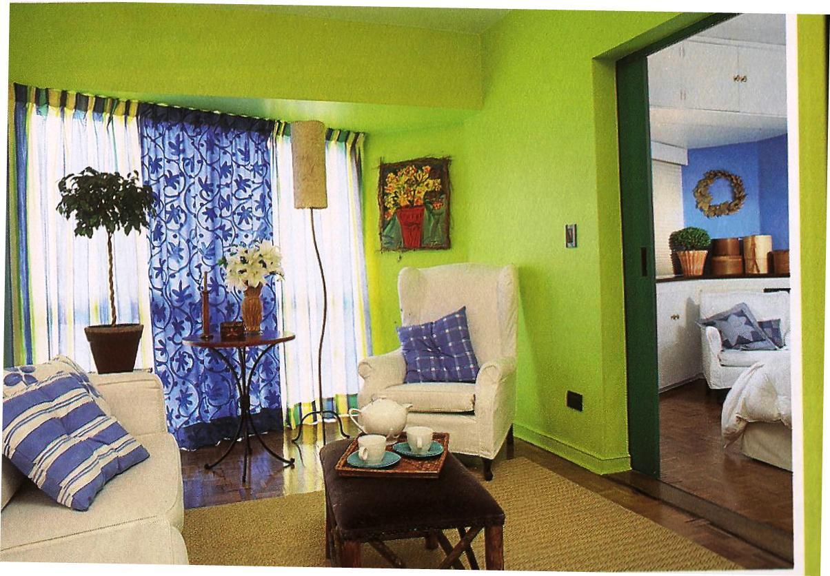 Decoração e Projetos – Decoração de casas – Cores de paredes  #8BA12A 1204 836