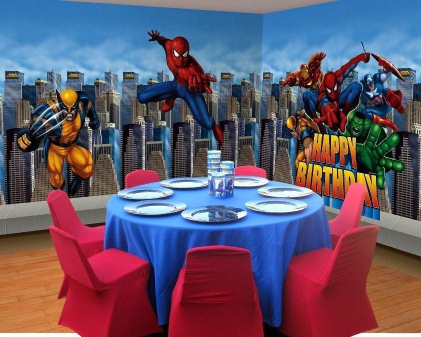 Decora o e projetos decora o de festa infantil homem for Party decorations you can make at home