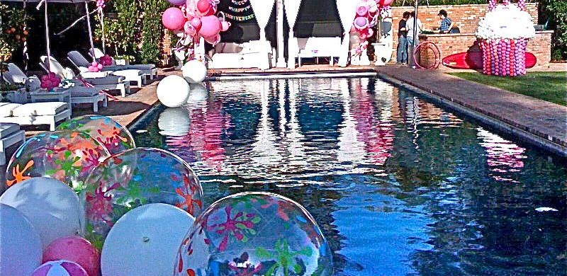 Pool Party Decorations Teenagers