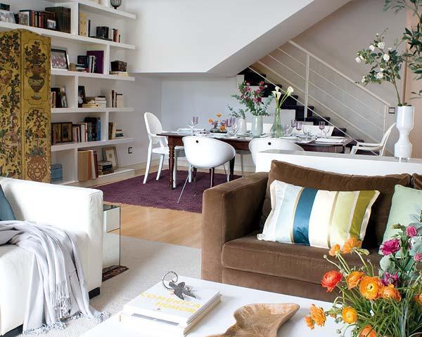 decoracao sofa branco:Decoração e Projetos – Decoração de salas com sofá marrom