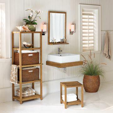 Decora o e projetos fotos de banheiros bonitos e baratos decorados - Capazos baratos para decorar ...