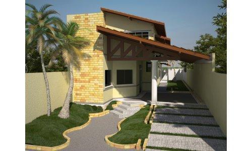 Decora o e projetos fotos de casas bonitas e baratas para for Fotos de casas modernas simples