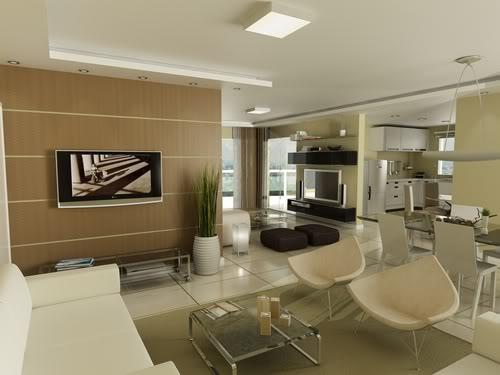 Decora o e projetos fotos de decora o de interiores de for Fachadas para apartamentos pequenos