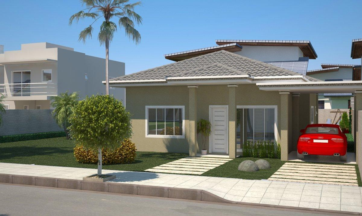 Decora o e projetos plantas de casas com 4 quartos e varanda for Casas para construir