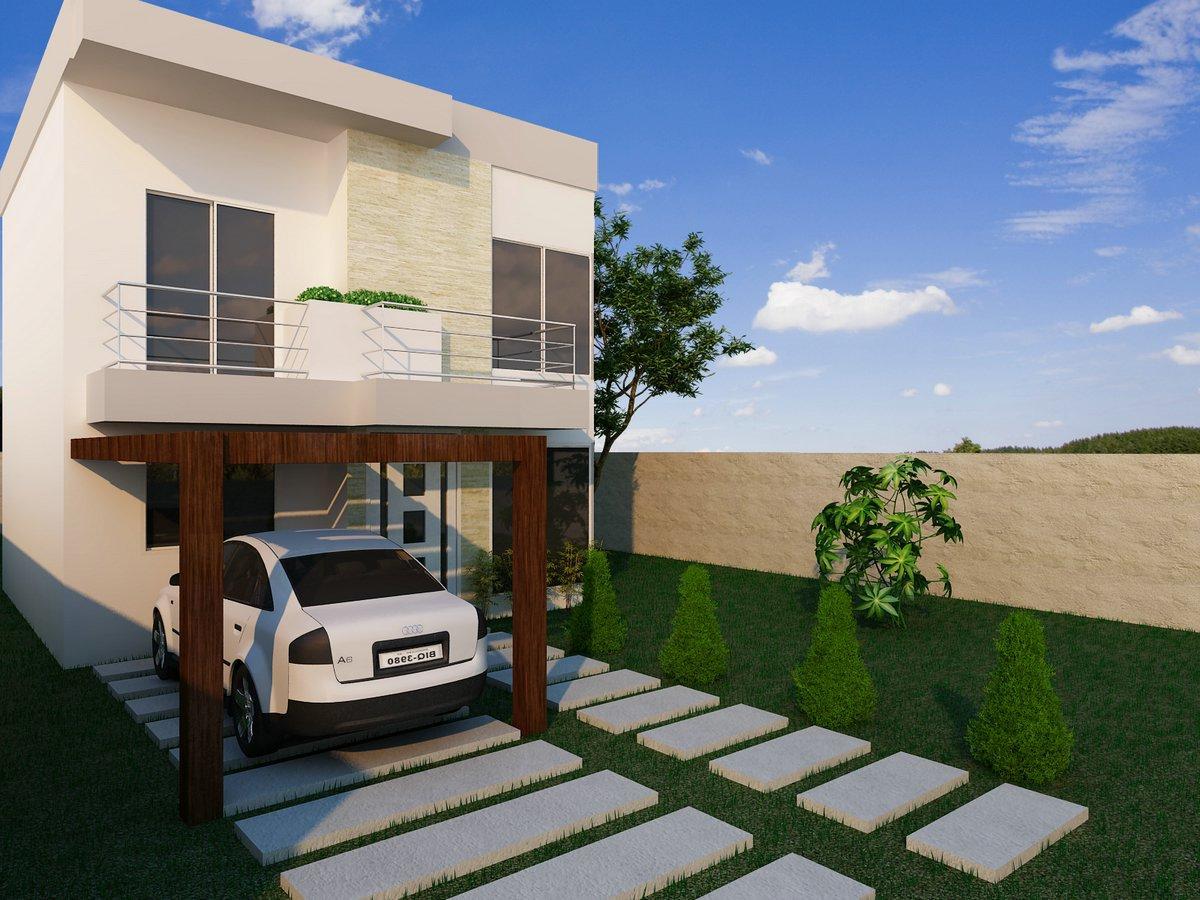 Decora O E Projetos Plantas De Casas Em Terrenos Estreitos