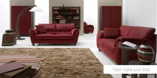Decoração e Projetos – Como decorar uma sala com sofá vermelho