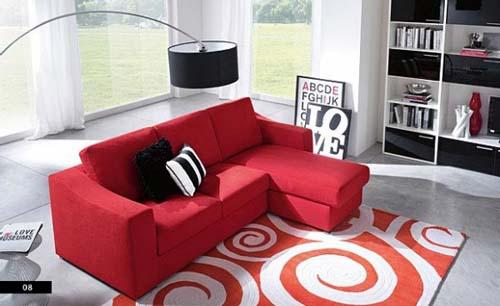 Decora o e projetos como decorar uma sala com sof vermelho Muebles de sala olx quito