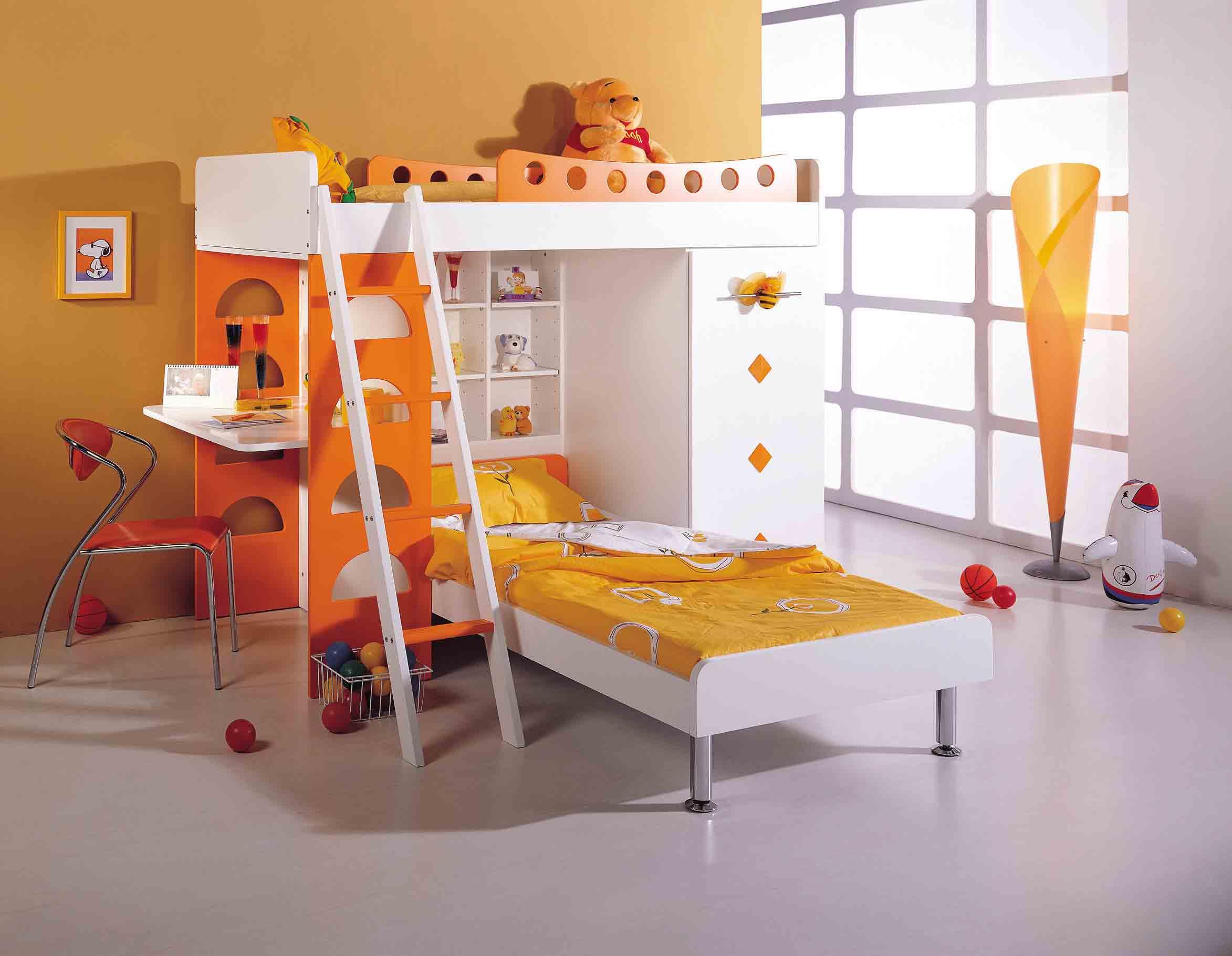 Decoração de quartos infantis com beliche
