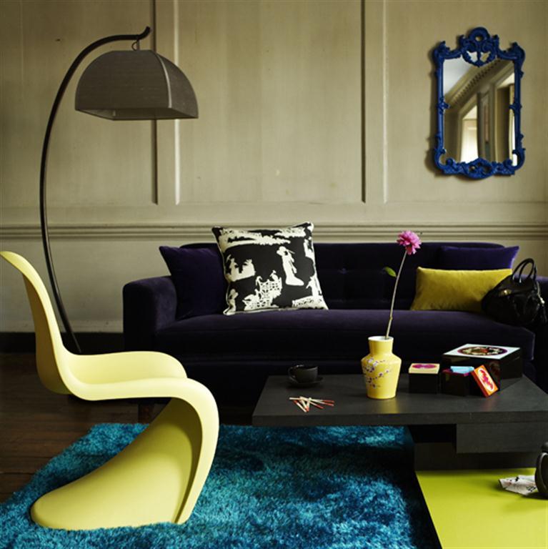 decoracao de sala retro:Decoração e Projetos – Decoração de sala de estar retrô