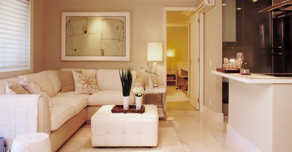 decoracao de uma sala pequena : decoracao de uma sala pequena: Projetos – Decoração de sala de visita pequena e moderna