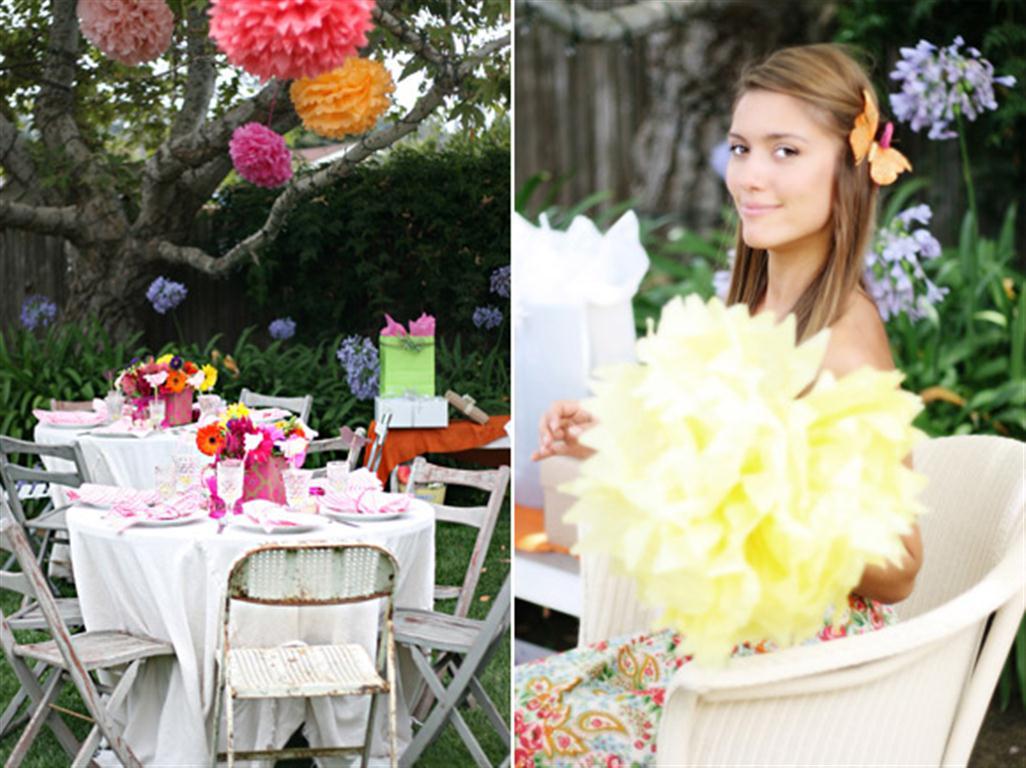 Backyard Wedding Shower Decorating Ideas : Decora??o e Projetos ? Decora??o para ch? de cozinha simples