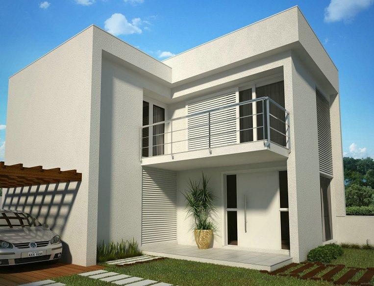 decora o e projetos fachadas de sobrados com varanda