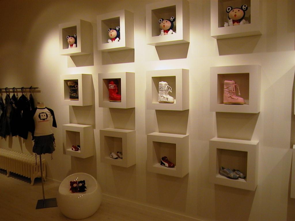 Fotos de decoração de lojas infantis
