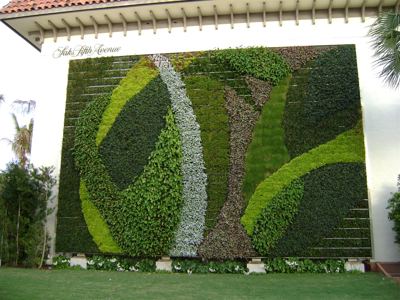 tendência de decoração com plantas ~ decoracao jardins verticais